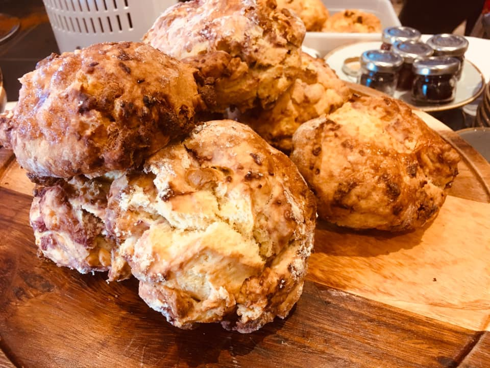 Conifox The Scone Of The Day Is Raspberry White Chocolate
