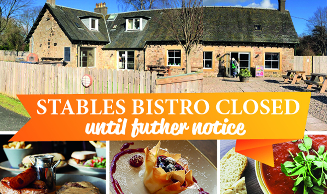 Stables Bistro Closed