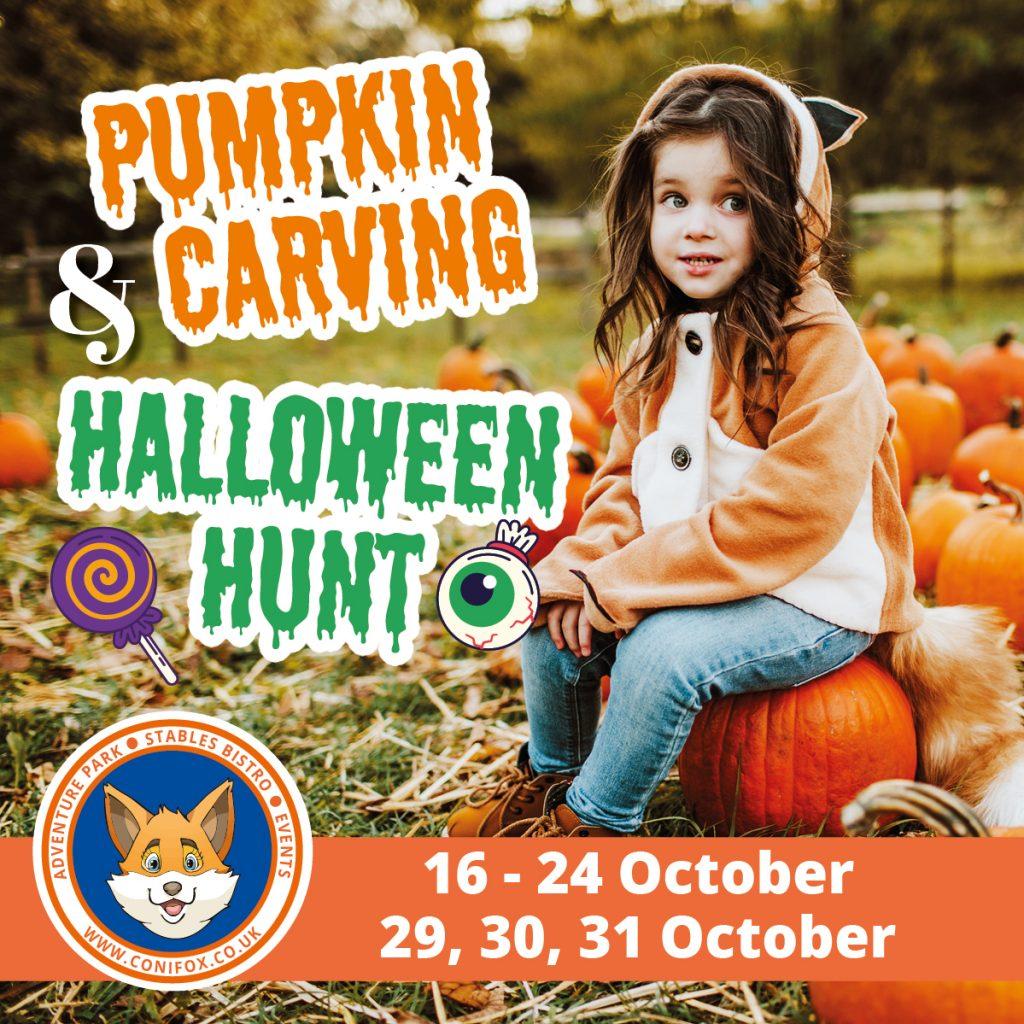 Pumpkin Carving and Halloween Hunt